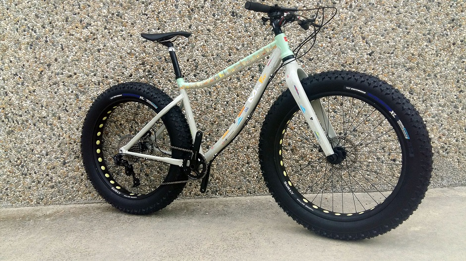 Una Wallpepper su Fat Bike