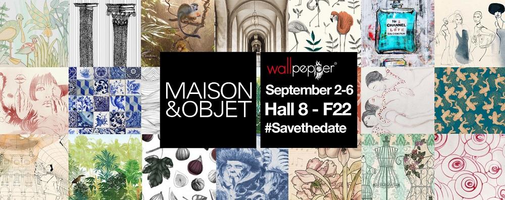 WallPepper® porta arte, cultura e tendenza a Maison & Objet