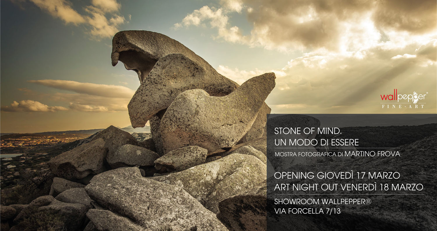 Stone Of Mind. Martino Frova in mostra da Wallpepper®